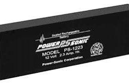 POWERSONIC PS-1223 12v 2.3ah AGM VRLA Sealed