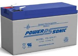 POWERSONIC PS-1270 12v 7ah AGM VRLA Sealed