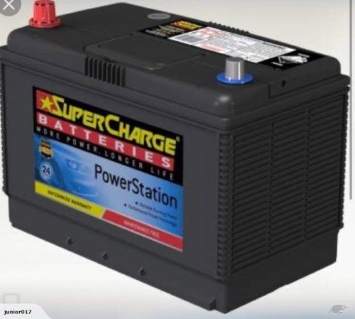 SUPERCHARGE N70ZZ BATTERY 600 CCA COMMERCIAL 24 MONTHS WARRANTY (RIGHT HAND)