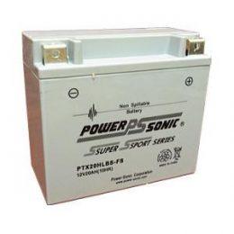 Power Sonic PTX20HLBS-FS 12v 310ccA 20ahr AGM Motorbike Jetski Battery YTX20HLBS-FS