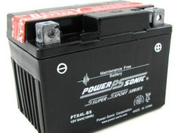 POWERSONIC MOTORBIKE BATTERY 12V 3AH PTX4L-BS 40 cca