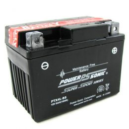 POWERSONIC MOTORBIKE BATTERY 12V 3AH PTX4L-BS 40 cca