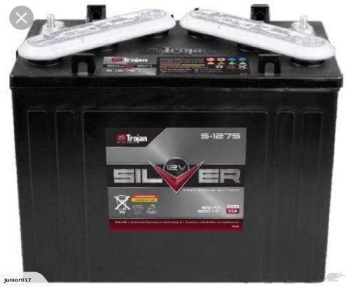 TROJAN BATTERY Golf Cart Battery 12 Volt 145AH TROJAN S-1275 FREE SHIPPING MAINFREIGHT DEPOT