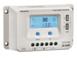 Projecta Automatic 12v-24v 20a 4 Stage Solar Charge Controller with LVD PROJECTA SC220
