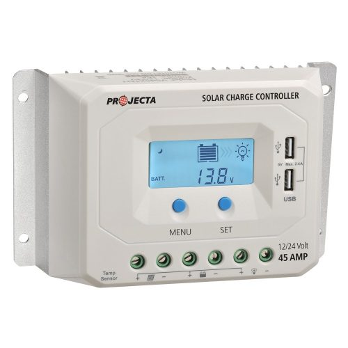Projecta Automatic 12v-24v 45a 4 Stage Solar Charge Controller with LVD PROJECTA SC245