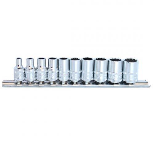 SP Tools SP20130 SP Tools S/SET RAILS 1/4 DR 10 PCE 12PT METRIC