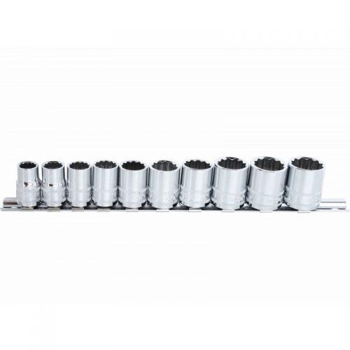 SP Tools SP20230 SP Tools Socket Rail Set 10pc 3/8 Dr Metric – 12pt