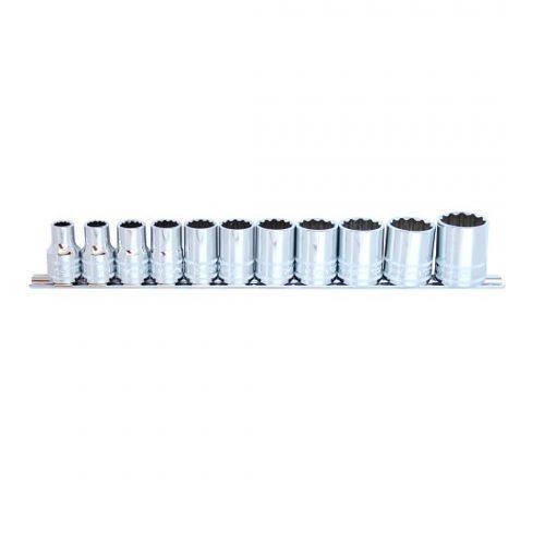 SP Tools SP20331 SP Tools Socket Rail set 12pc 1/2 Dr Metric – 12pt