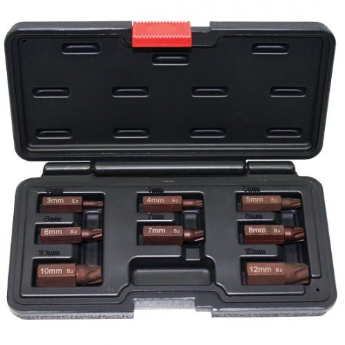 SP Tools 8pc Screw Extractor Set – Torx SP31308