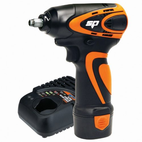 SP TOOLS SP81113 12V Mini Impact Wrench 3/8in Drive Kit