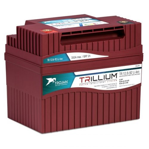 Trojan Trillium Lithium Ion Battery 12v 92ah FREE SHIPPING EXCEPT RURAL ADDRESSES