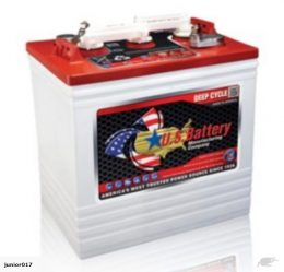 6 Volt DEEP CYCLE BATTERY 232 AH US 2200 US BATTERY FREE SHIPPING EXCEPT RURAL ADDRESSES