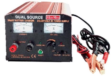 POWER TRAIN BATTERY CHARGER 12 VOLT 10 AMP 240 VOLT SMART DC CHARGER PCS10A
