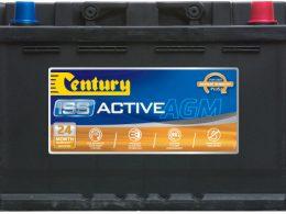 DIN66LAGM Century Start-Stop AGM Battery 12V 760 CCA LN3 DIN66 DIN66L 24 MONTHS WARRANTY