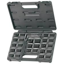 SP Tools SP31255 28pce Stud Removal & Insert Set