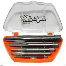 SP Tools SP31302 5pcs Square Screw Extractor Set