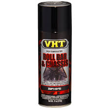 VHT Roll Bar & Chassis Paint ( Gloss Black or Satin Black ) SP670 Gloss Black SP671 Satin Black