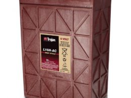 TROJAN DEEP CYCLE BATTERY 6V 435 AH TROJAN L16H-AC