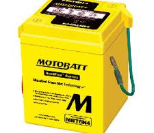 MOTOBATT QUADFLEX MBT6N4 6V MOTORBIKE BATTERY 6N4-2A-3 6N42A, 6N42A3 FREE SHIPPING NATIONWIDE