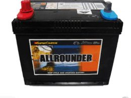 Supercharge All Rounder MRV48 (Starting & Deep Cycle) FREE SHIPPING EXCEPT RURAL AREAS