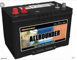 Supercharge All Rounder MRV 87 (Starting & Deep Cycle battery) FREE SHIPPING EXCEPT RURAL AREAS