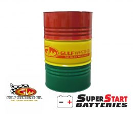 Gulf Western Superdraulic Hydraulic Oil ISO 46 205 Litre | 30062 oil drum FREE SHIPPING FREE SHIPPING AUCKLAND WIDE