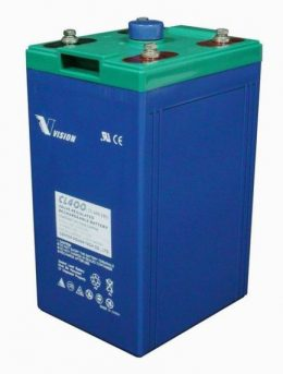 VISION 2v 400AH Deep Cycle Battery CL400