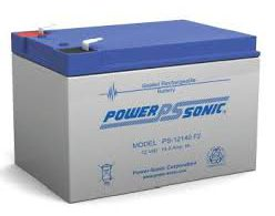 POWERSONIC PDC-12140 12v 14ah AGM VRLA Sealed
