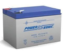 POWERSONIC PDC-12140 12v 14ah AGM VRLA Sealed