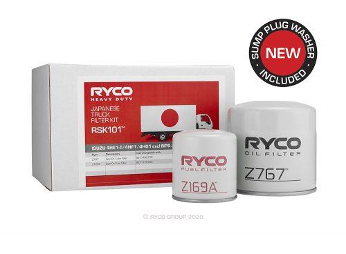 RSK101 Ryco Service Kit ISUZU 4HF1 (NKR66), 4HG1 (NPR71)