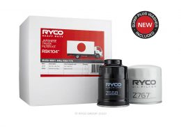 RSK104 Ryco Service Kit ISUZU 4HK1. Various N Series (NPR75/NPS75/NQR75) (to 01