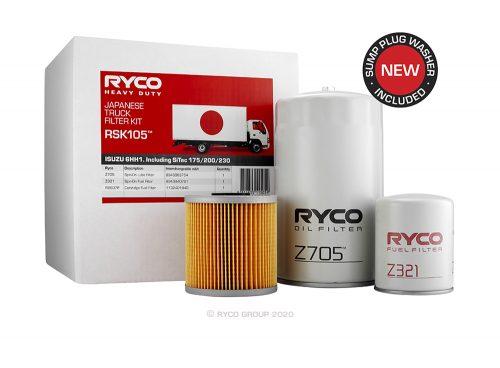 RSK105 Ryco Service Kit ISUZU 6HH1. (FRR33, FSR33, FSS33, FVR33)
