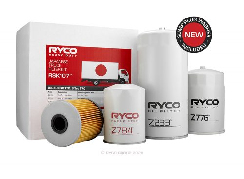 RSK107 Ryco Kit ISUZU 6SD1TC (FVD23, FVM23, FVR23, FVY23, FVZ23) (to 01/2003)