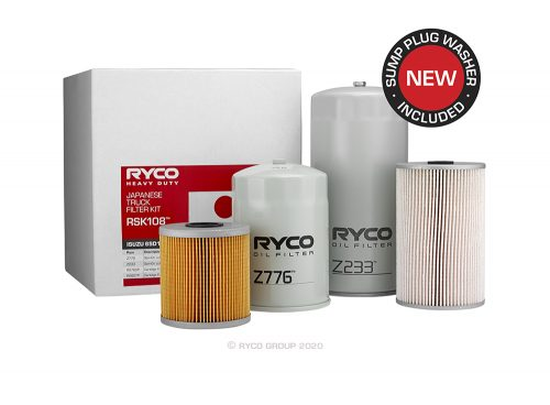 RSK108 Ryco Service Kit ISUZU 6SD1TC (FVD23, FVM23, FVR23, FVY23, FVZ23)