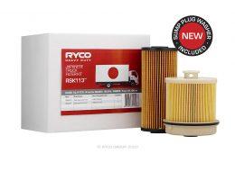 RSK113 Ryco Service Kit ISUZU 4JJ1-TCS. N series NLR85, NLS85, NNR85. From 01/08