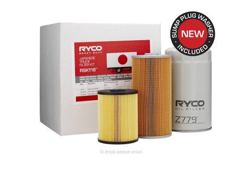 RSK118 Ryco Service Kit UD MK6 / MK6 PLUS / PK9/PK10 (J08TC)