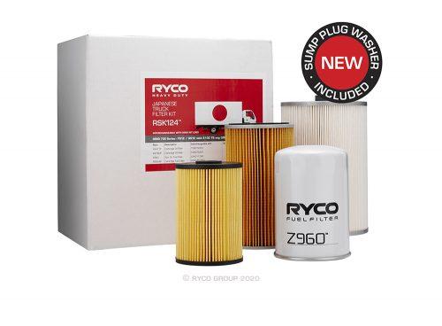 RSK124 Ryco Service Kit HINO 700 Series – FS1E / SS1E with E13C TS engine US04