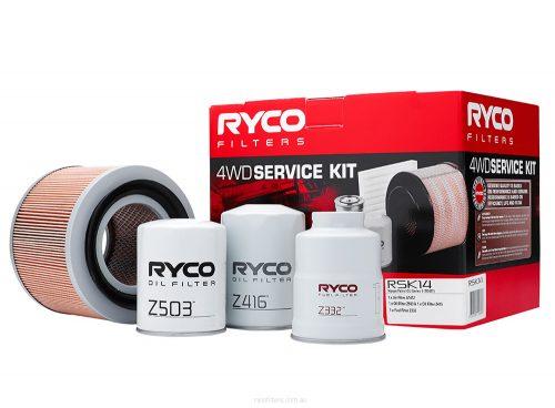 Ryco RSK14 4WD Service Kit fits Nissan Patrol GU Series 1 (TD42T)