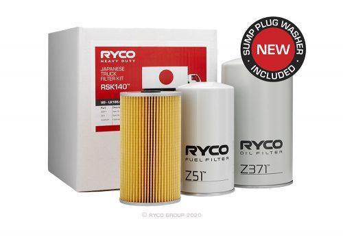 RSK140 Ryco Service Kit UD LK185/235, PK220/220A/PK235