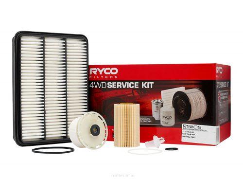 RYCO 4WD SERVICE KIT TOYOTA LANDCRUISER 76, 78, 79 SERIES 1VD-FTV RSK15