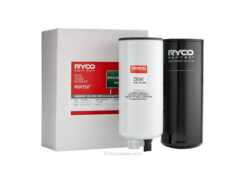RSK152 Ryco Service Kit Cummins – ISX Non-EGR. Interchangeable with MK12747