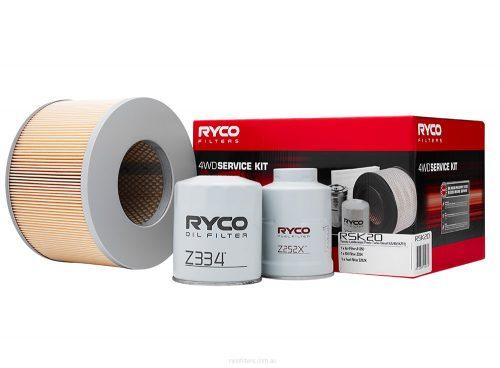 Ryco 4WD Service kit Toyota Prado 3.0 TD (KZJ90_, KZJ95_) KZJ90 RSK20