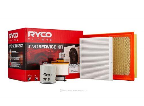 Ryco 4WD Service kit Toyota Fortuner, Hilux GUN Series Turbo Diesel RSK31C