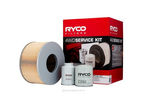 RYCO 4WD SERVICE KIT TOYOTA LANDCRUISER HDJ100R with 1HD-FTE ENGINES RSK42