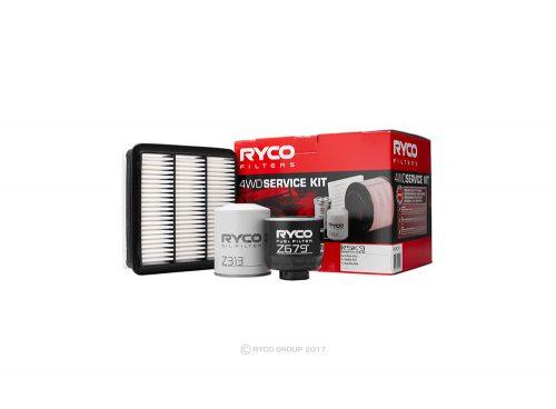 Ryco 4WD Service kit Mitsubishi Triton 2.5L, ML & MN Ryco RSK9