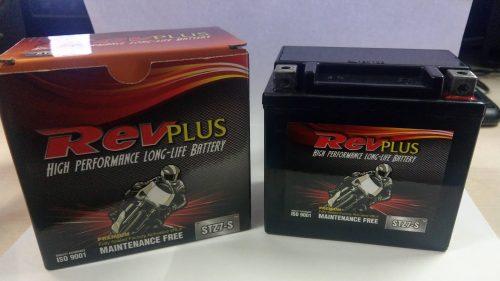 Motorbike battery Revplus STZ7-S 12v 6ah 150cca YTZ7-S YTZ7S TTZ7S MBTZ7S YT5L-B